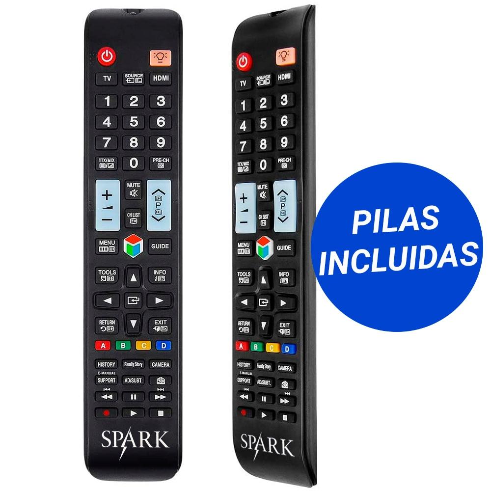 Mando para SAMSUNG smart tv compatibilidad con televisión LED LCD repuesto diseño original con botón 3D