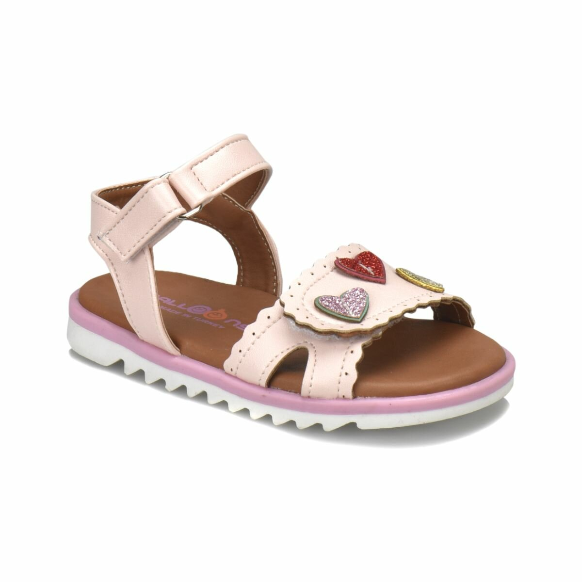 FLO PINKI Light Pink Female Child Sandals Balloon-s