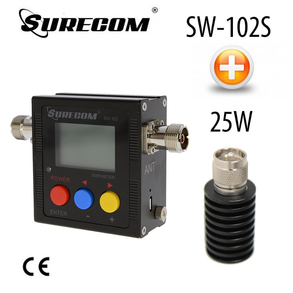 SURECOM SW-102S V.S.W.R. METER + 25W DUMMY LOAD (126475)