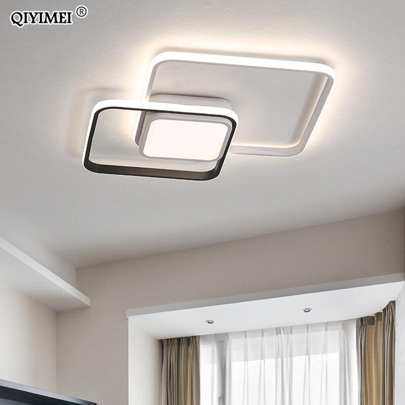 Nouveau design LED plafonnier pour salon salle à manger chambre luminarias para teto LED lumières pour la maison luminaire moderne