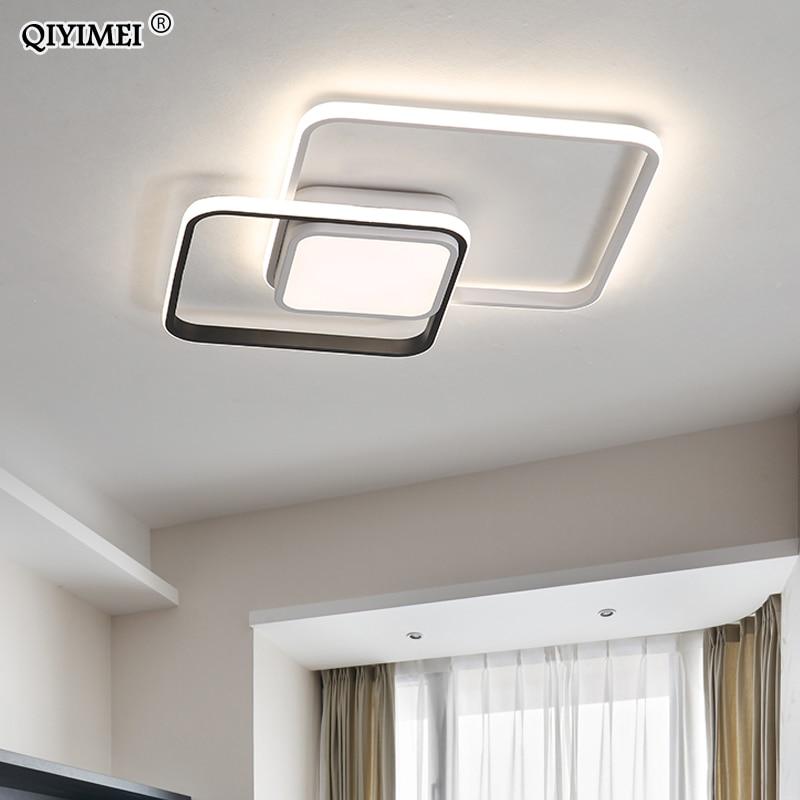 Novo design conduziu a luz de teto para sala estar jantar quarto luminarias parágrafo teto luzes led para casa luminária moderna