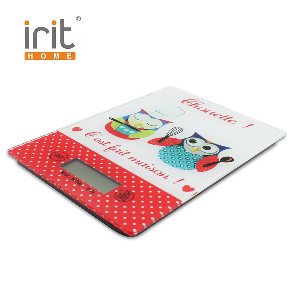 Scale kitchen electronic Irit IR-7124 Kitchen scale kitchen Measuring Tool Scales for kitchen Electronic scale new portable milligram digital scale 30g x 0 001g electronic scale diamond jewelry pocket scale home kitchen