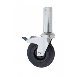 Wheels for scaffolding foldable 150 mm