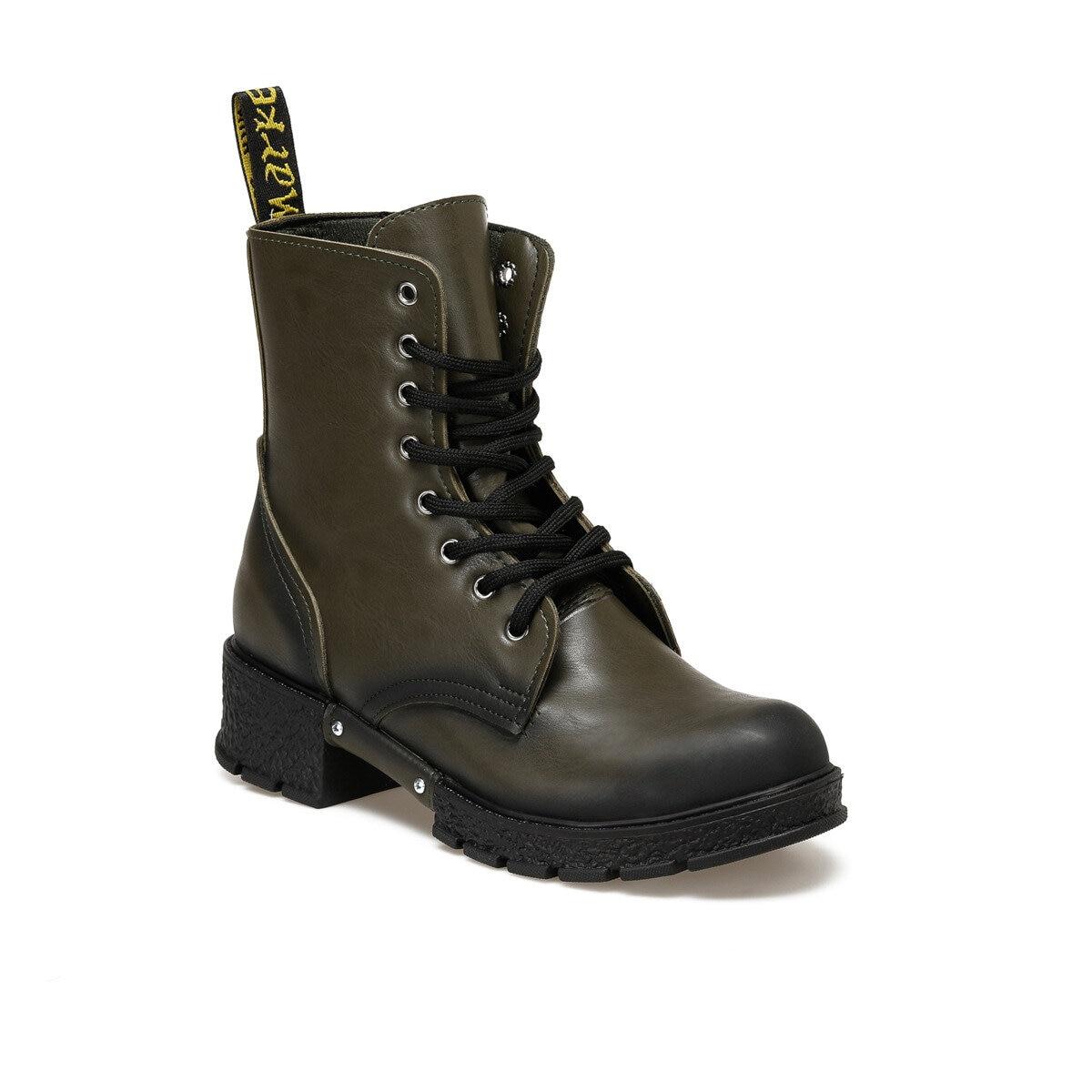 FLO 19SF-2012 Khaki Women 'S Boots BUTIGO