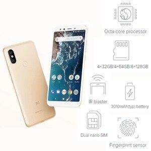 Image 4 - グローバルバージョン xiaomi mi A2 64 ギガバイト rom 4 ギガバイトの ram (真新しいと密封された) mia2 64 ギガバイトスマートフォン携帯