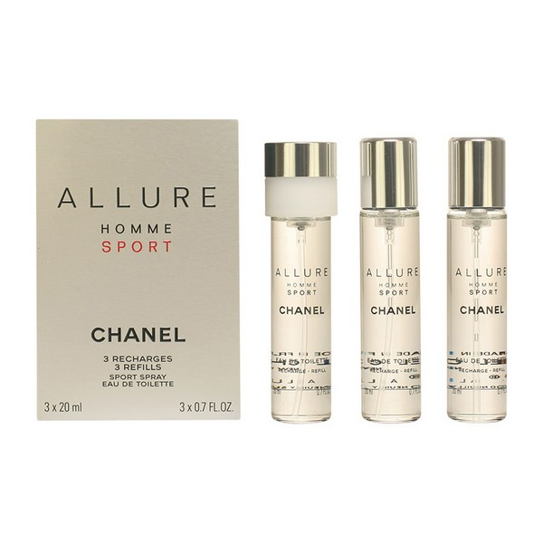 Men's Perfume Set Allure Homme Sport Chanel EDT недорого