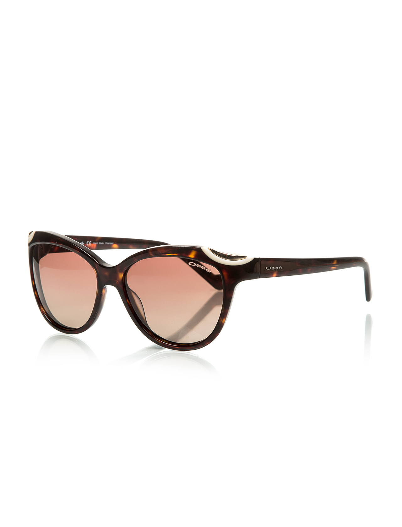 Women's sunglasses os 2151 02 bone Brown organic oval aval 57-16-140 osse