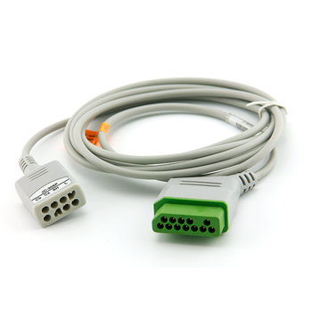 Nihon kohden ECG trunk Cable,Nihon Kohden JC-906P ecg monitor cable, IEC/AHA