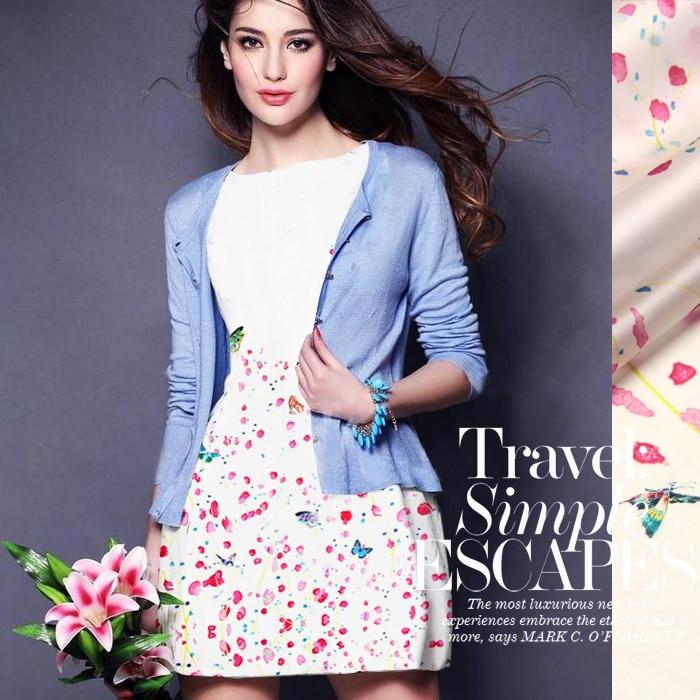SO145 100% Natural Silk Organza/ Pink Sakura /Silk Fabric Mulberry Silk / Width1.48yd Length 1.28 Thickness 14mm/ Unit:PC