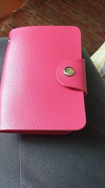 Fashion PU Leather 24 Bits Id Card Holder Multifunction Business Bank Card Case Men Women Credit Passport Rfid Purse Wallet Bag|business card wallet|card walletbusiness card bag - AliExpress