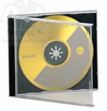 Футляр для 1 CD Прозрачный