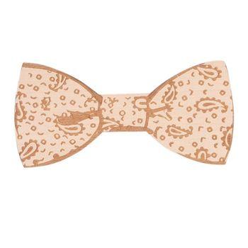 Bow tie for men (wood, figure) 52909