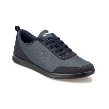 FLO LIDA 9PR granatowe męskie buty KINETIX tanie i dobre opinie Sztuczna skóra