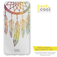 FunnyTech®Silicone Case Skin cover for Nokia 6.1 Plus/Nokia X6 L Dreamcatcher assorted color