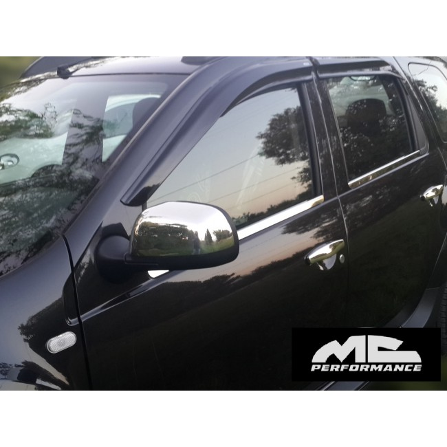Chrome Rearview Dacia Duster 2010-2011