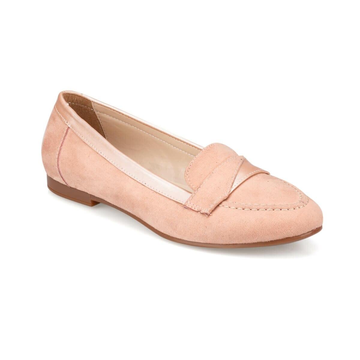 FLO 91.313048SZ Salmon Women Loafer Shoes Polaris