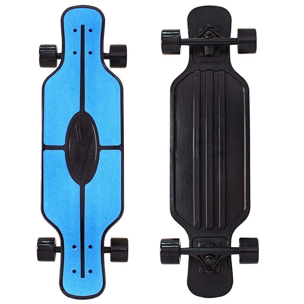 Skateboard y-scoo longboard requin tir 31