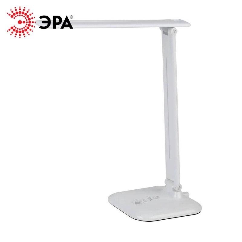 ERA de mesa conduziu a lâmpada NLED-462-10W Preto Branco