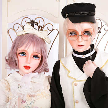 (HD02)HIDOLLS×DMS Resin Half Head Female/Male Face Cosplay Kigurumi Crossdress Japanese Role Lolita BJD Mask Crossdresser DOLL - DISCOUNT ITEM  0% OFF All Category