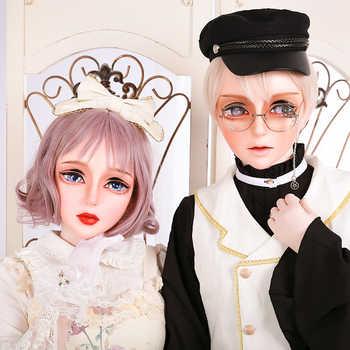 (HD02)HIDOLLS×DMS Resin Half Head Female/Male Face Cosplay Kigurumi Crossdress Japanese Role Lolita BJD Mask Crossdresser DOLL - Category 🛒 Novelty & Special Use
