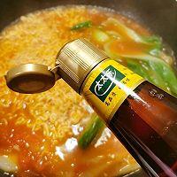 芝士泡面#太太乐鲜鸡汁芝麻香油#的做法图解14