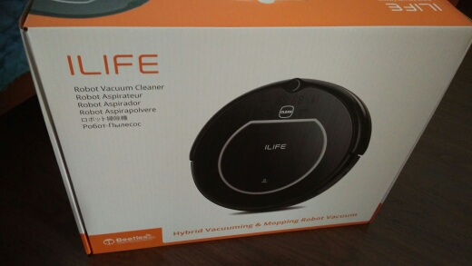 Robot vacuum cleaner ILIFE V55 Pro wet and dry-in Vacuum Cleaners from Home Appliances on Aliexpress.com | Alibaba Group
