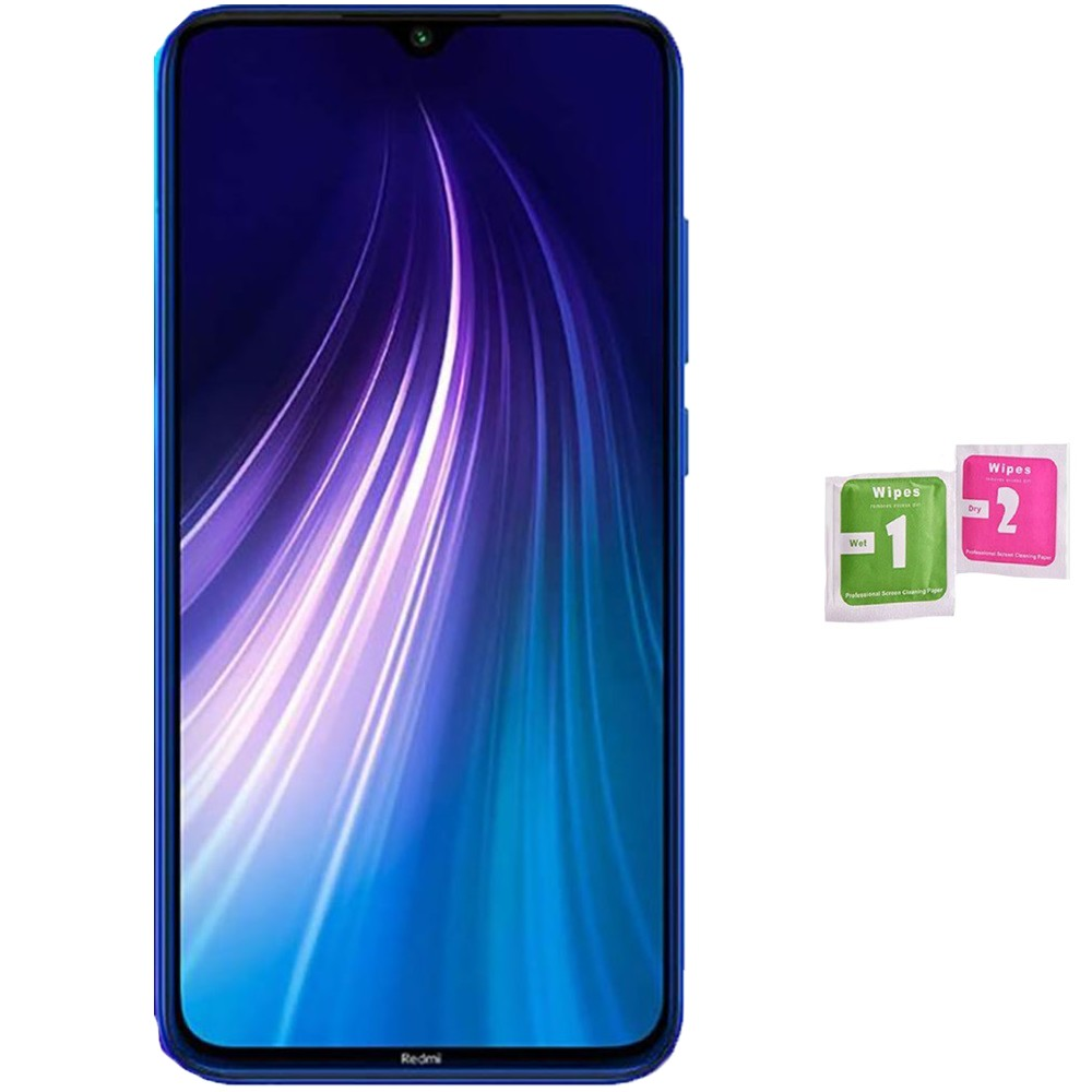 Protector Screen Tempered Glass For For XIAOMI Note Redmi 8 (Generico, Not Full SEE INFO) WIPES