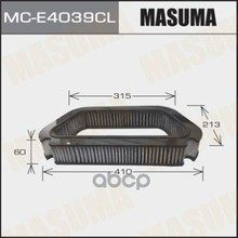 Фильтр Салона Masuma Mce4039cl Masuma арт. MCE4039CL
