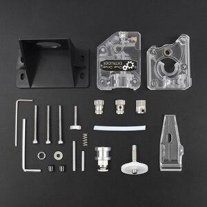 Image 4 - Детали для 3D принтера BMG, экструдер, клон, двойной привод, экструдер, обновленный экструдер Bowden, нить 1,75 мм для 3D принтера CR10