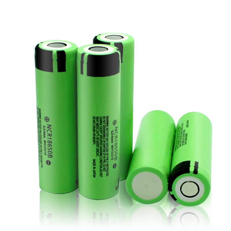 Original 18650 Battery 3.7V 3400mah NCR18650B Lithium Rechargeable Batteries 18650 Cells(China)