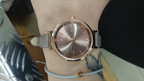 -- Feminino Relógio Quartzo