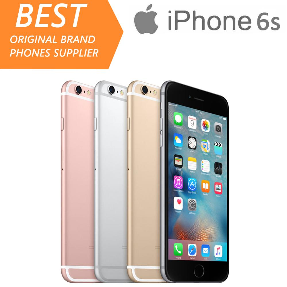 Apple iPhone 6s Unlocked 2GB WCDMA/GSM/LTE Dual Core Fingerprint Recognition Used 64GB/128GB