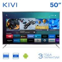 "Телевизор 50 ""KIVI 50UR50GR UHD 4K Smart TV HDR Android Голосовой ввод 5055inchTV"