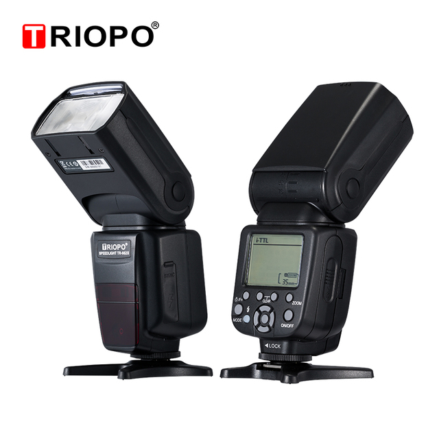 Triopo TR 982III TR 982 III Flash Speedlite HSS Multi LCD Wireless Master Slave Mode Flash Light For CANON NIKON DSLR Camera