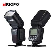 Triopo TR 982III TR 982 III فلاش Speedlite HSS متعددة LCD اللاسلكية ماستر الرقيق وضع ضوء فلاش لكانون نيكون DSLR كاميرا