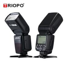 Triopo TR 982III TR 982 III de Flash Speedlite HSS LCD Multi Modo Slave Mestre Sem Fio Flash de Luz Para CANON NIKON DSLR Camera