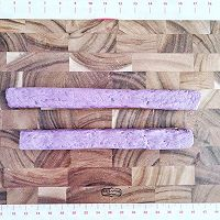 "㊙️外酥里嫩‼️紫薯小酥【家庭轻松版】#美食说出""新年好""#的做法图解2"