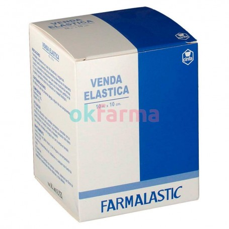 Farmalastic Elastic Bandage 10 M X 10 Cm