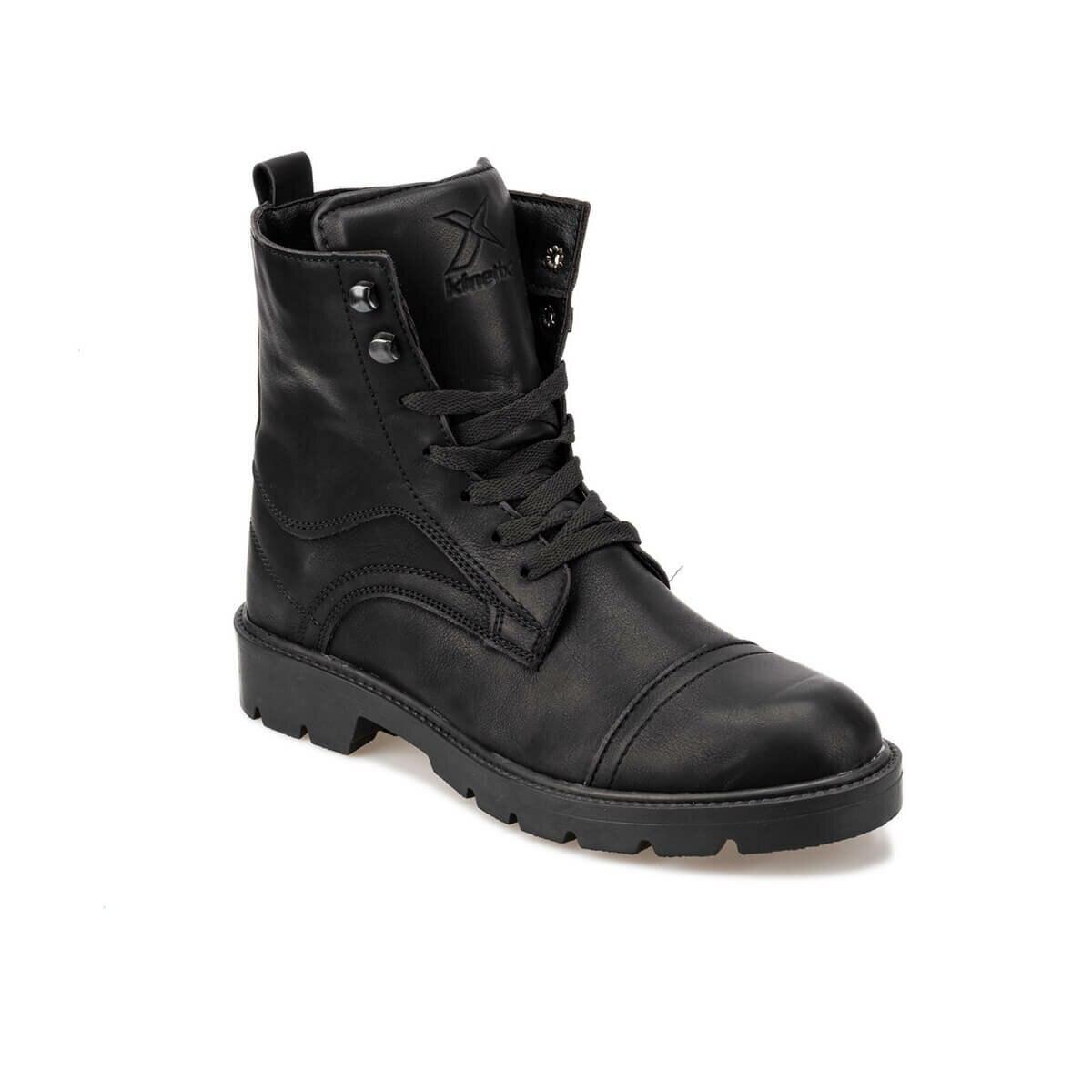 FLO VIERA 9PR Black Men Boots KINETIX
