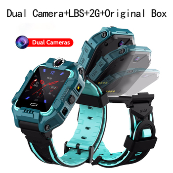 kids Smart Watch for children Built-in Dual camera SOS Call Location Device Tracker baby Anti-Lost Monitor LBS positionin