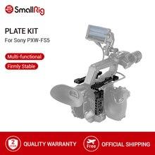 SmallRig 2 Cái Tấm Hàng Đầu Kit Với Duy Nhất Tấm Bên Phải đối với Sony PXW FS5 Tấm Kit 1843