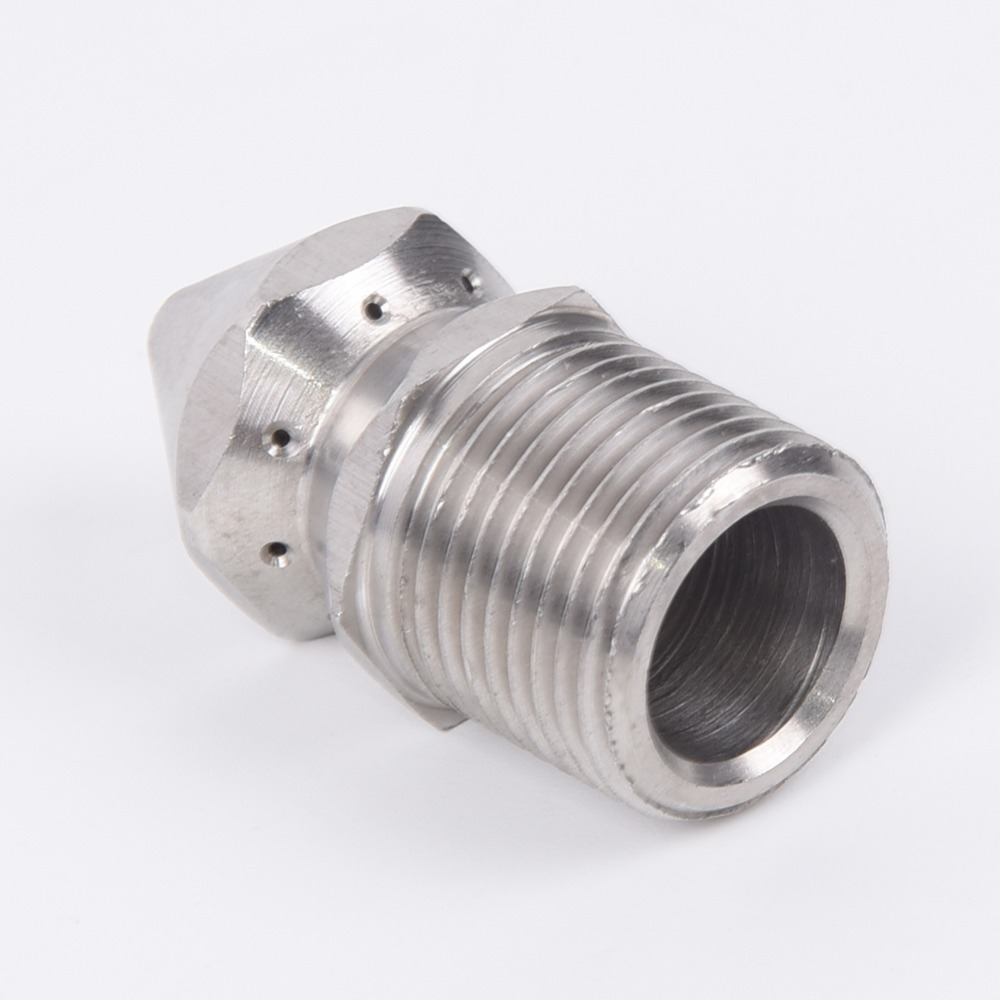U139173477824453f843514788aa729b6X 1/4'' 3/8 '' Cleaning Nozzle Pressure Washer Drain Sewer Cleaning Pipe Jetter Spray Nozzle 4 Jet Garden Accessories Tools