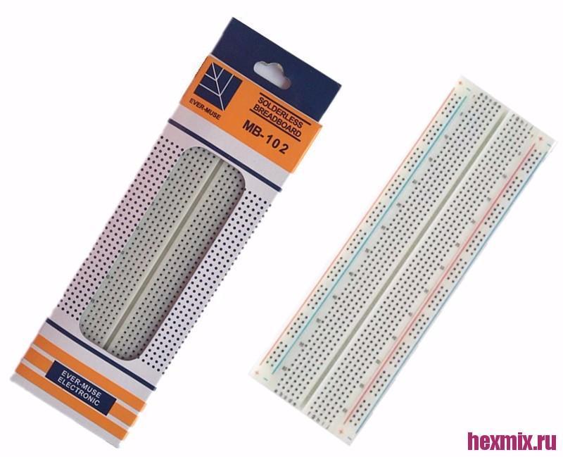 Layout Board Mb-102 830 Pins