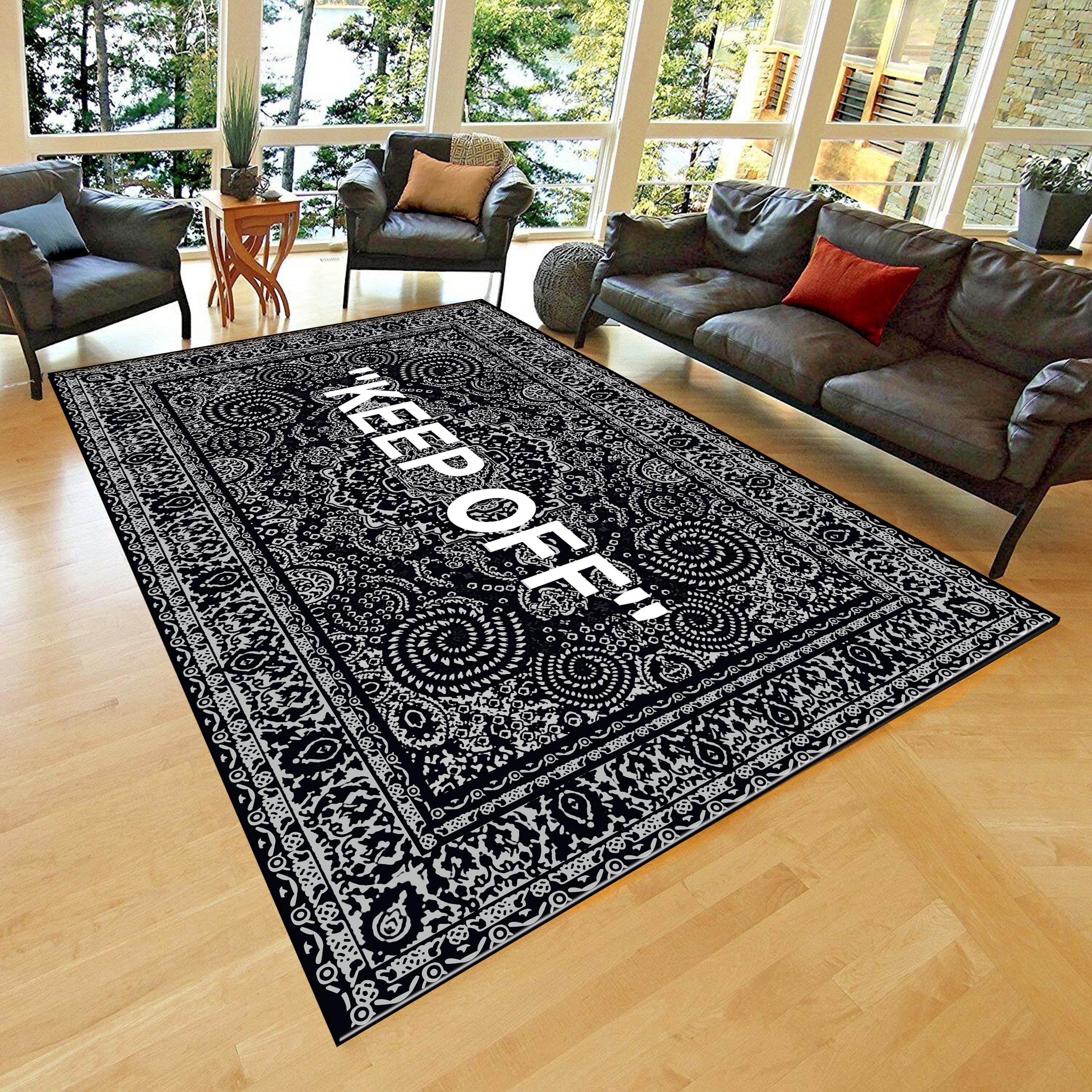 Keep Off Classic Patterned Carpet Fan Carpet Non Slip Floor Carpet Teen S Carpet Area Rug Carpet Aliexpress