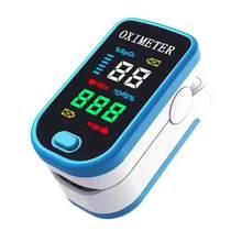 Clipe de dedo digital oxímetro dedo oxímetro pulso display oled saturação oxigênio no sangue monitor de freqüência cardíaca