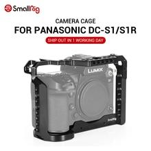 SmallRig DSLR S1 kamera kafesi için Panasonic Lumix DC S1 ve S1R özelliği W/soğuk ayakkabı dağı için mikrofon Flash işık bağlantı 2345