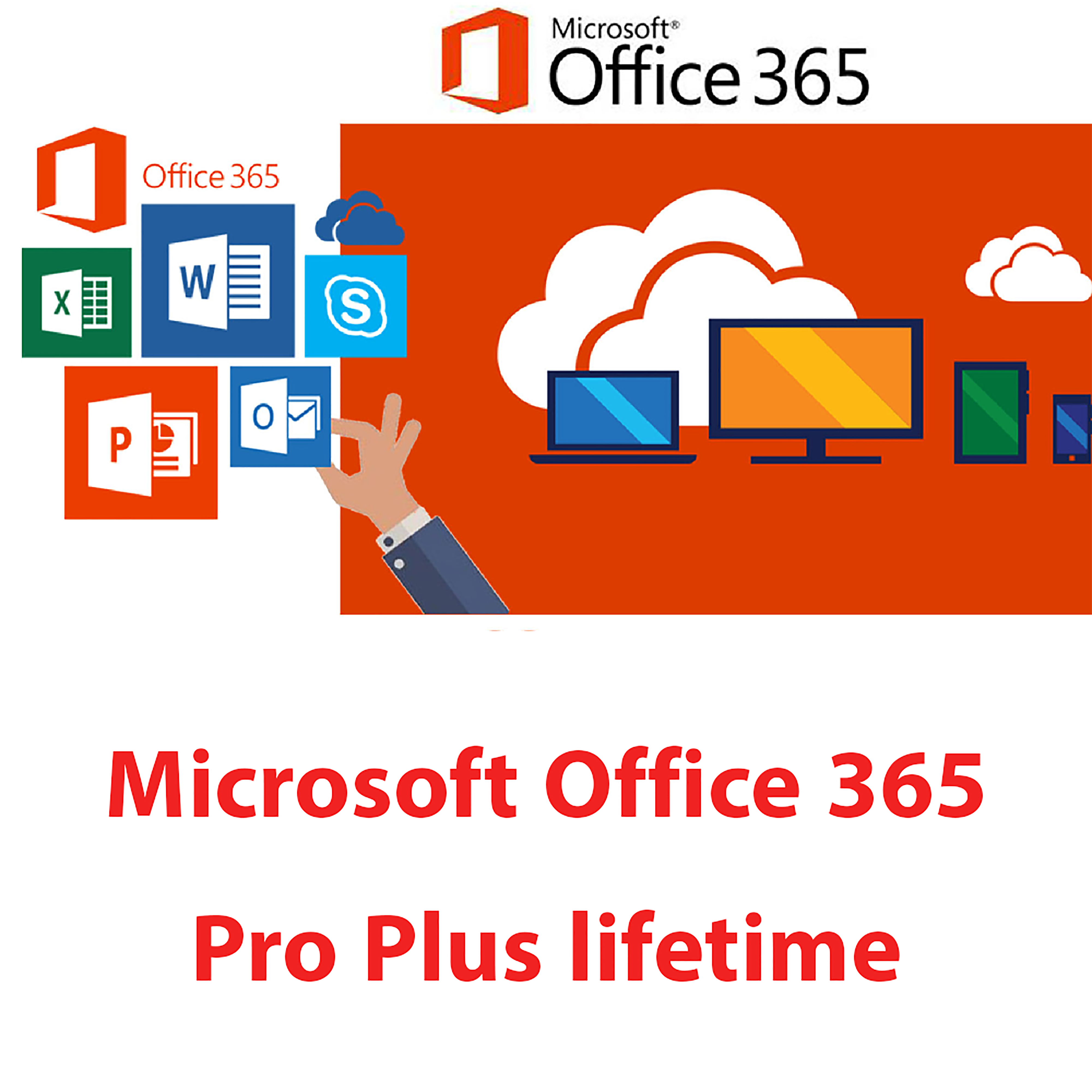 Microsoft office 365 Lifetime Account for All Language Version office 365