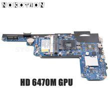 NOKOTION 636944-001 основная плата для hp Pavilion DM4 DM4-2000 материнская плата для ноутбука HM65 DDR3 HD 6470M GPU