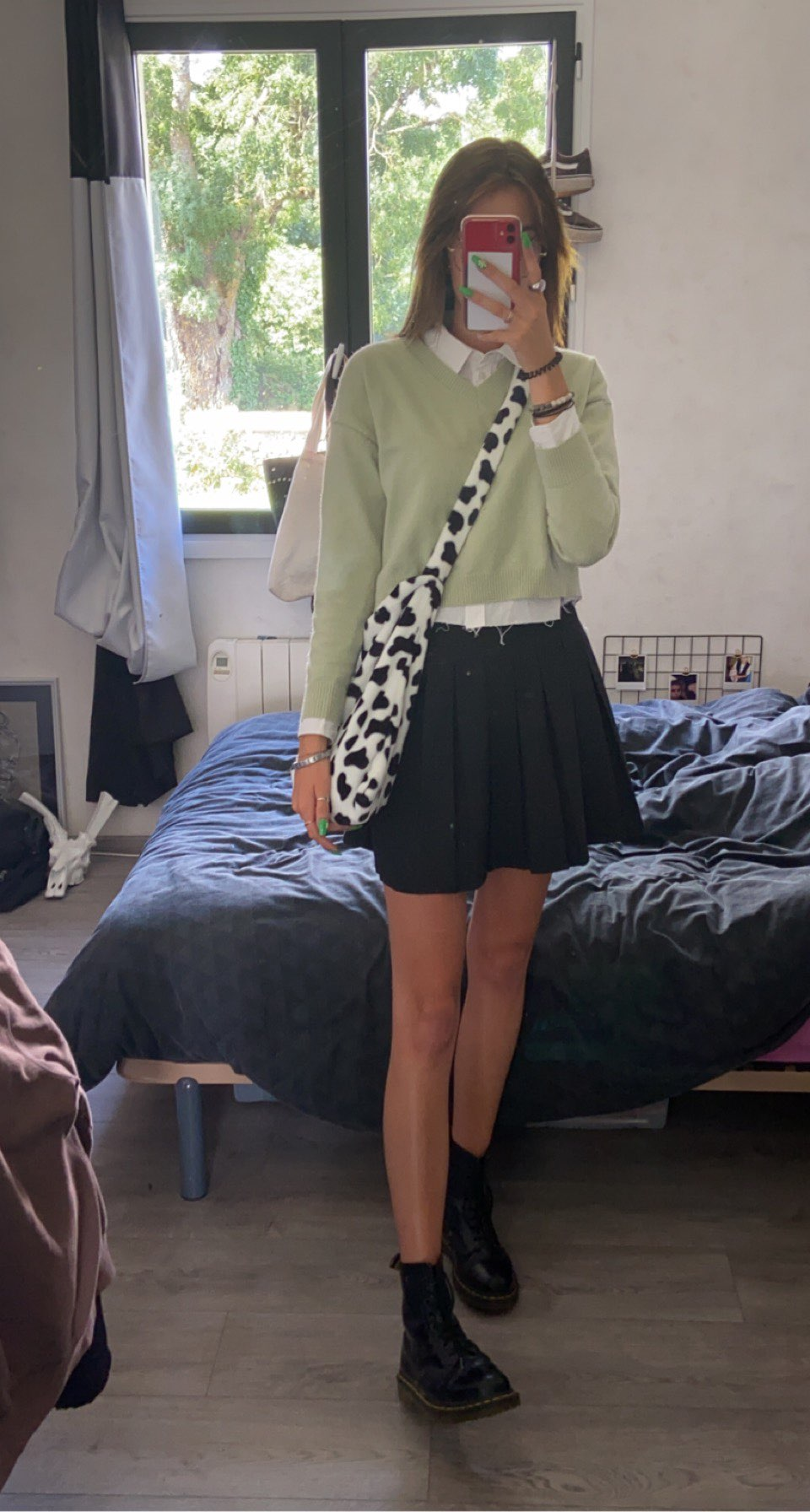Cow Pattern Tote Handbag photo review