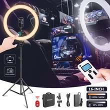 Neewer advanced 16 дюймовый светодиодный кольцевой светильник
